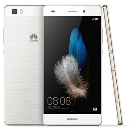 Mobiltelefon, Huawei P8 Lite DualSIM, fehér