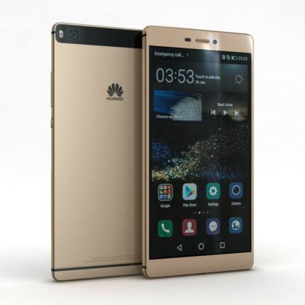 Mobiltelefon, Huawei P8 Lite DualSIM, arany