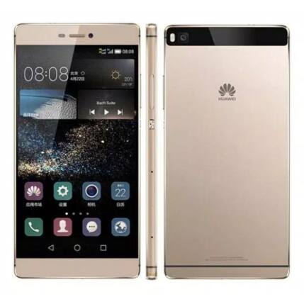 Mobiltelefon, Huawei P8 16GB Mystic Champagne, Kártyafüggetlen, 6 hónap garancia, fehér