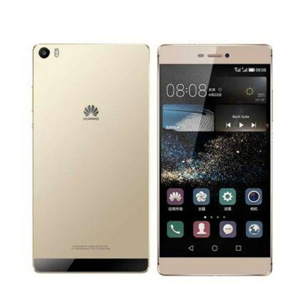 Mobiltelefon, Huawei P8 Max DualSIM 4G 64GB, arany