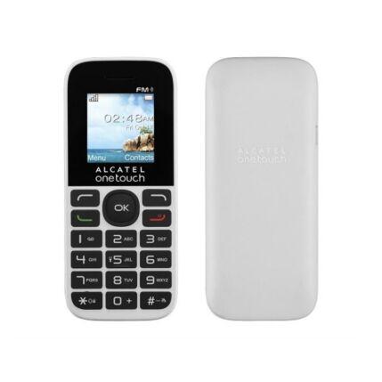 Mobiltelefon, Alcatel OT-1016G, fehér