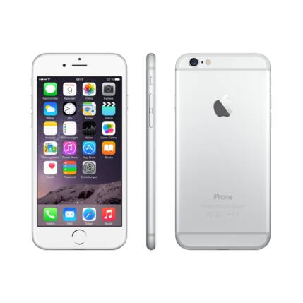 Mobiltelefon, Apple iPhone 6 Plus 128GB, ezüst