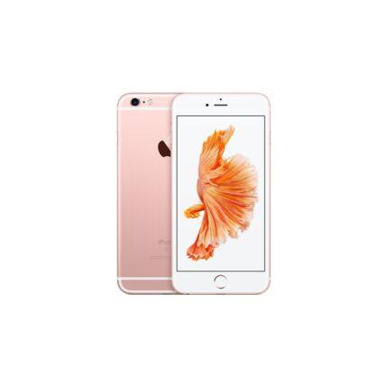 Mobiltelefon, Apple iPhone 6S 64GB kártyafüggetlen, 1 év garancia, rose gold