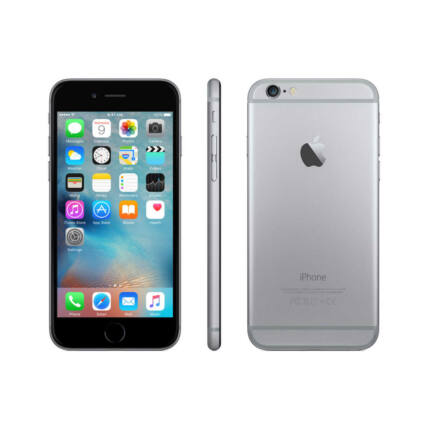 Mobiltelefon, Apple iPhone 6S 64GB (Pre Owned), szürke