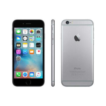 Mobiltelefon, Apple iPhone 6S 64GB, Kártyafüggetlen, 1 év garancia, szürke