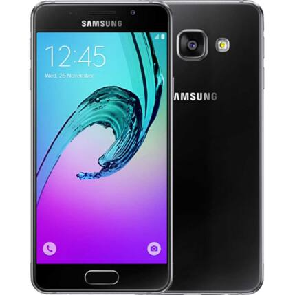 Mobiltelefon, Samsung A310 Galaxy A3 2016 4G 16GB, fekete