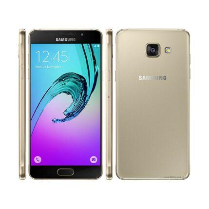 Mobiltelefon, Samsung A510 Galaxy A5 2016 16GB, Kártyafüggetlen, 1év garancia, arany