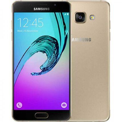 Mobiltelefon, Samsung A710F Galaxy A7 2016 DualSim Kártyafüggetlen, 6 hónap garancia, arany