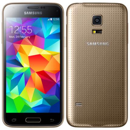 Mobiltelefon, Samsung G800F Galaxy S5 Mini LTE 4G, arany