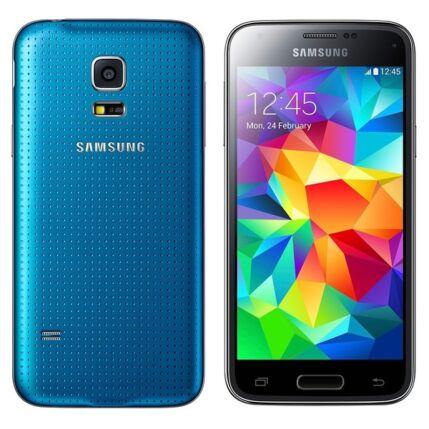 Mobiltelefon, Samsung G800F Galaxy S5 Mini LTE 4G, kék