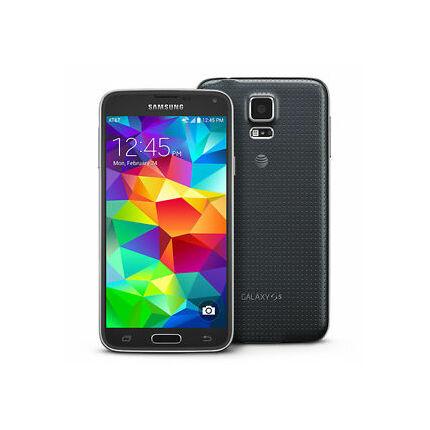 Mobiltelefon, Samsung G900F Galaxy S5 LTE 4G 16GB, fekete