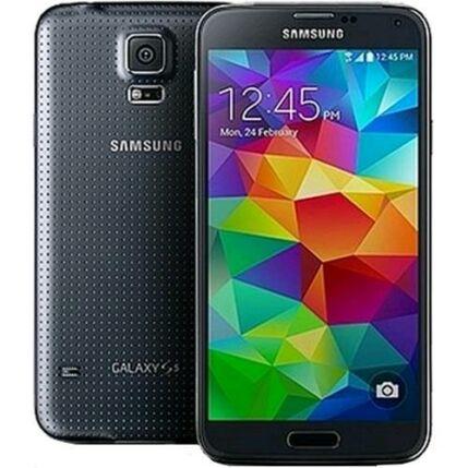 Mobiltelefon, Samsung G903F Galaxy S5 Neo, fekete