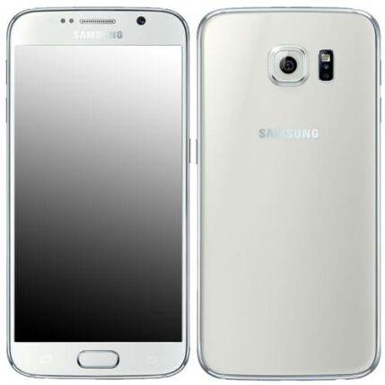Mobiltelefon, Samsung G920F Galaxy S6 32GB, fehér