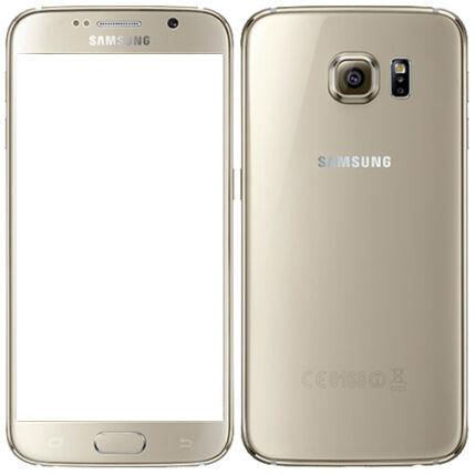 Mobiltelefon, Samsung G920F Galaxy S6 LTE 4G 128GB, arany