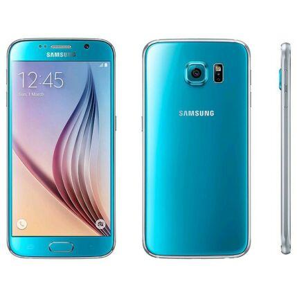 Samsung G920F Galaxy S6 LTE 4G 128GB, (Kártyafüggetlen 1+1 év garancia), Mobiltelefon, kék