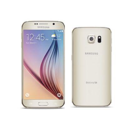 Mobiltelefon, Samsung G920F Galaxy S6 64GB, arany