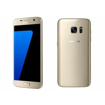 Mobiltelefon, Samsung G930F Galaxy S7 32GB Kártyafüggetlen, 1+1 év garancia, arany