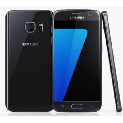 Mobiltelefon, Samsung G930FD Galaxy S7 DualSIM, fekete