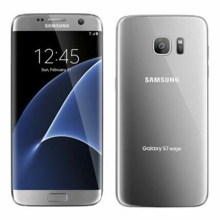 Mobiltelefon, Samsung G935F Galaxy S7 Edge LTE 4G 32GB, ezüst