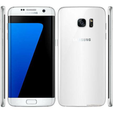 Mobiltelefon, Samsung G935F Galaxy S7 Edge LTE 32GB, fehér