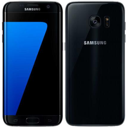 Mobiltelefon, Samsung G935F Galaxy S7 Edge LTE 32GB, fekete