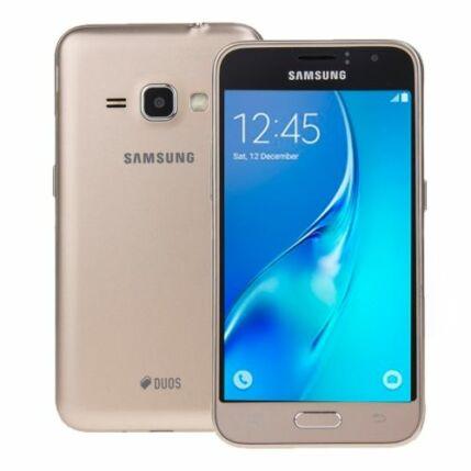 Mobiltelefon, Samsung J120H Galaxy J1 2016 DualSIM, arany