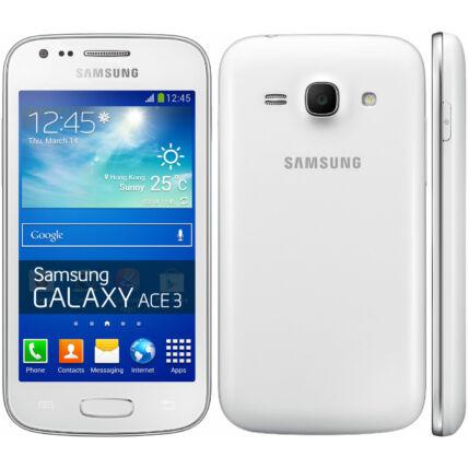Mobiltelefon, Samsung S7275 Galaxy Ace 3, fehér