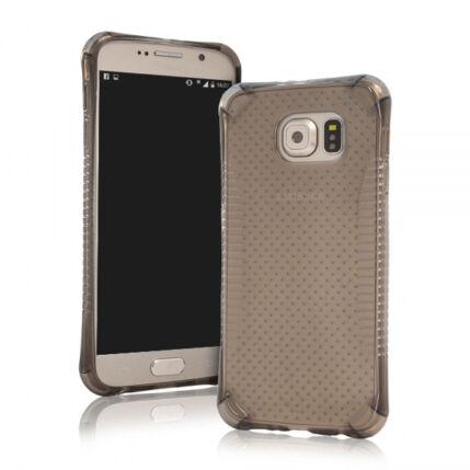 Szilikon tok, Samsung G935 Galaxy S7 Edge, Ütésálló - füst
