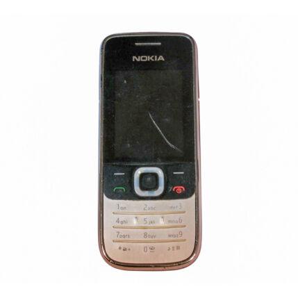 Mobiltelefon, Nokia 2730 Classic, fekete (Bontott)
