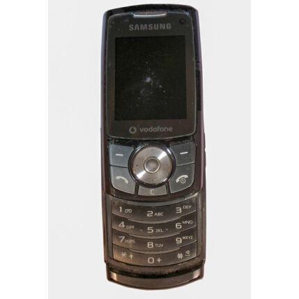 Mobiltelefon, Samsung L760V, szürke (Bontott)