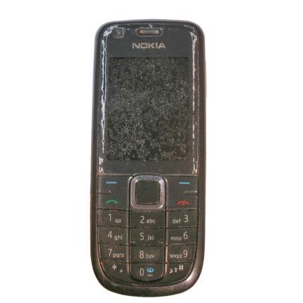Mobiltelefon, Nokia 3120 Classic, szürke (Bontott)