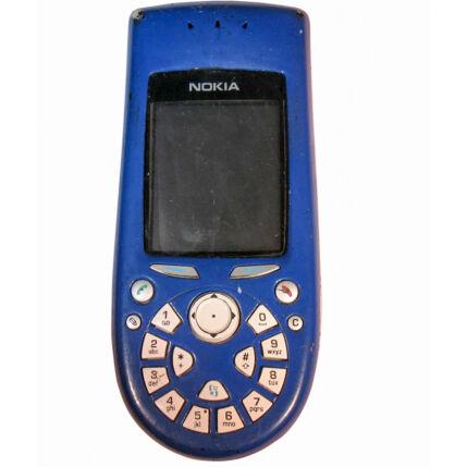 Mobiltelefon, Nokia 3650, kék (Bontott)