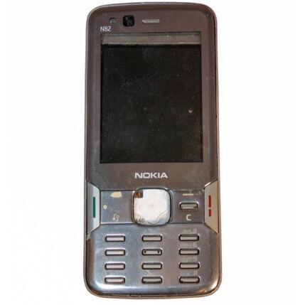 Mobiltelefon, Nokia N82, ezüst (Bontott)