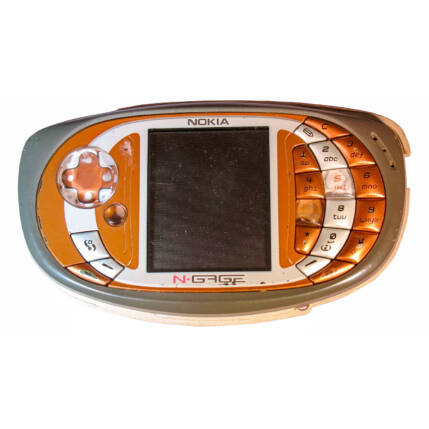 Mobiltelefon, Nokia N-Gage QD (Bontott)