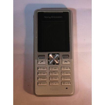 Mobiltelefon, Sony Ericsson T250i, ezüst (Bontott)