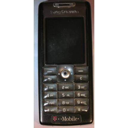 Mobiltelefon, Sony Ericsson T630, fekete (Bontott)