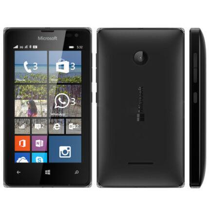 Mobiltelefon, Nokia Lumia 532 DualSIM, fekete
