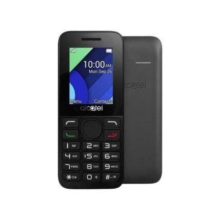 Mobiltelefon, Alcatel OT-1054X, fekete