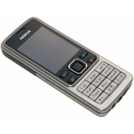 Mobiltelefon, Nokia 6300 (Bontott, felújított), ezüst