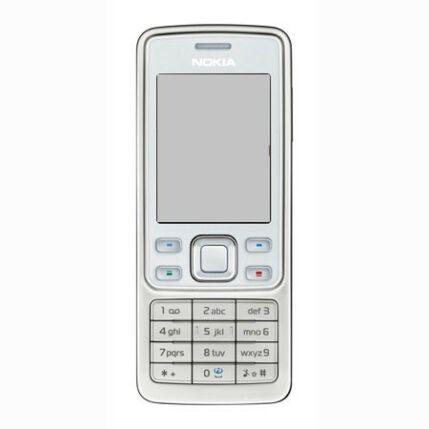 Mobiltelefon, Nokia 6300 (Bontott, felújított), fehér