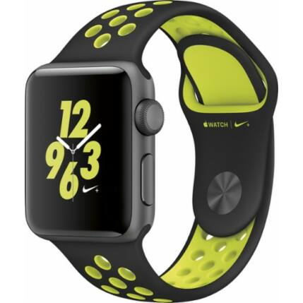 Okosóra, Apple Watch 2 (MPO82ZP/A) 38mm NIKE, fekete