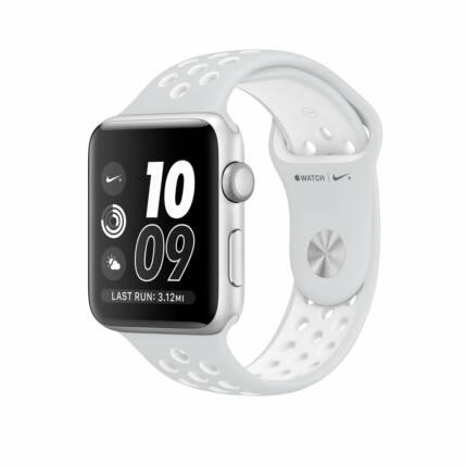 Apple Watch 2 (MQ192LL/A) 42mm NIKE, Okosóra, ezüst-fehér