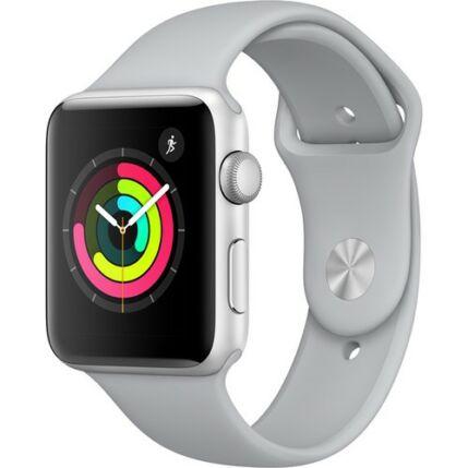 Okosóra, Apple Watch 3 (MQL02) 42mm, szürke