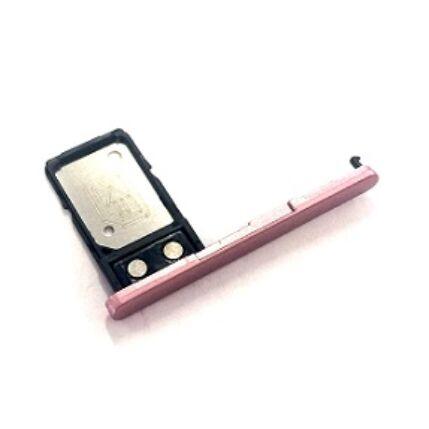 SIM tartó, Sony Xperia L2 H3311, rózsaszín