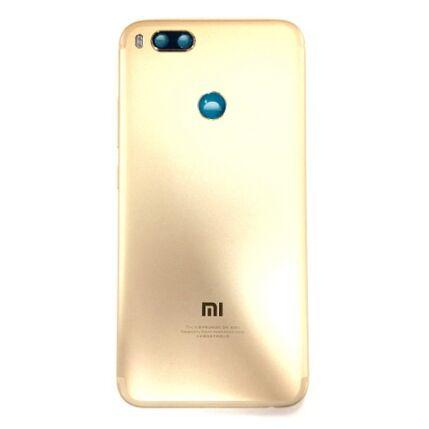Akkufedél, Xiaomi Mi A1, 5X, arany