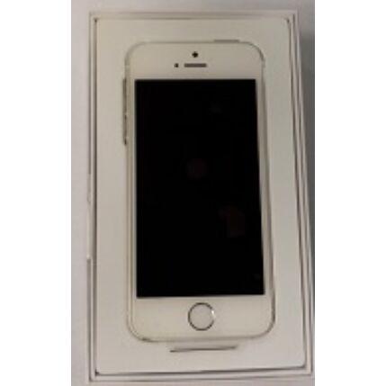 Mobiltelefon, Apple iPhone 5S 16GB Felújított, Kártyafüggetlen 6 hónap garanciával, ezüst
