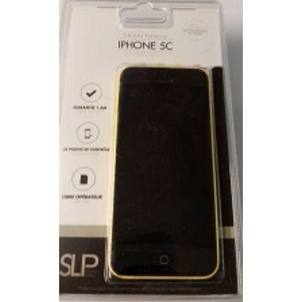 Mobiltelefon, Apple iPhone 5C 16GB Felújított, Kártyafüggetlen, 1 hónap garancia, sárga