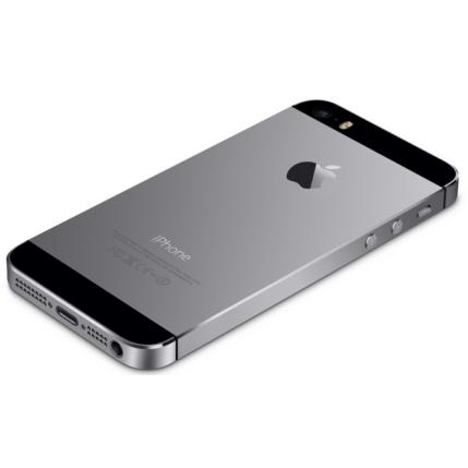 Apple iPhone 5S 16GB, Mobiltelefon, szürke
