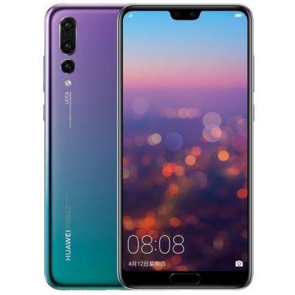 Huawei P20 Pro 128GB, (Kártyafüggetlen 1 év garancia), Mobiltelefon, twilight