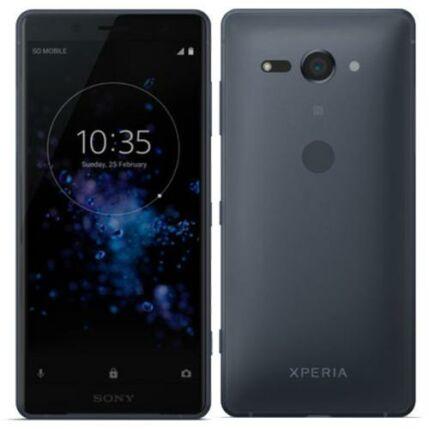Mobiltelefon, Sony Xperia XZ2 Compact H8324 DualSim kártyafüggetlen, 1 év garancia, fekete